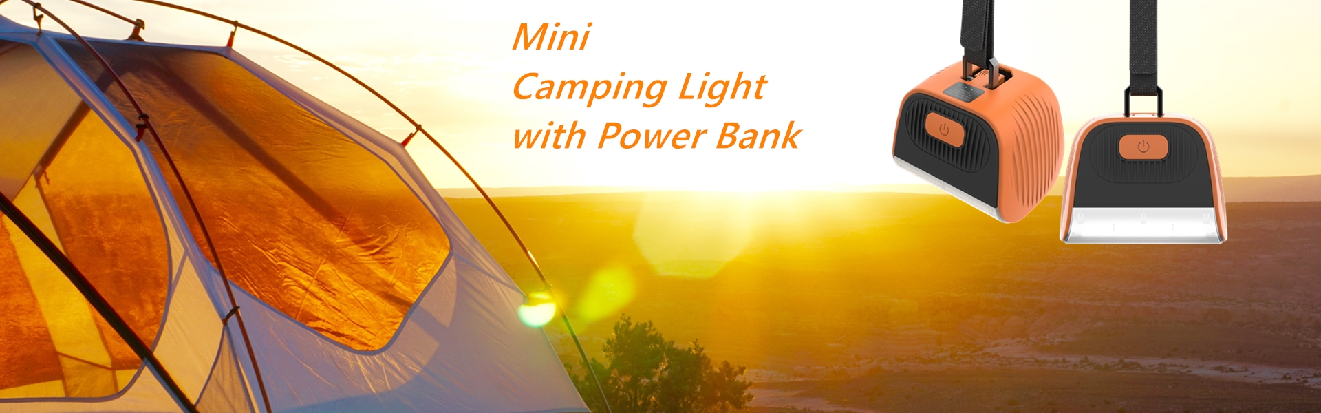 C7 16 LED Rechargeable LED Camping Lantern/ Camping Lights 4000mAh Power Bank